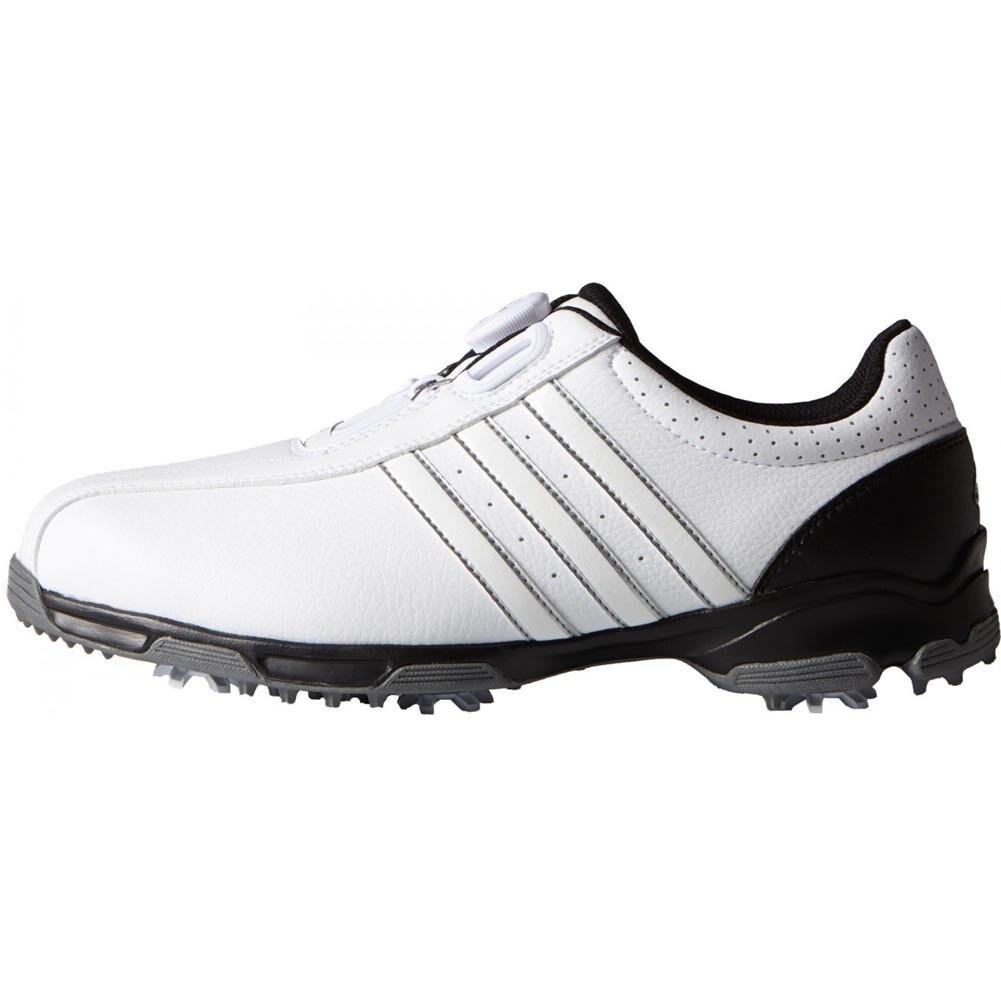 Adidas Men's 360 Traxion BOA White/ Core Black Golf Shoes...