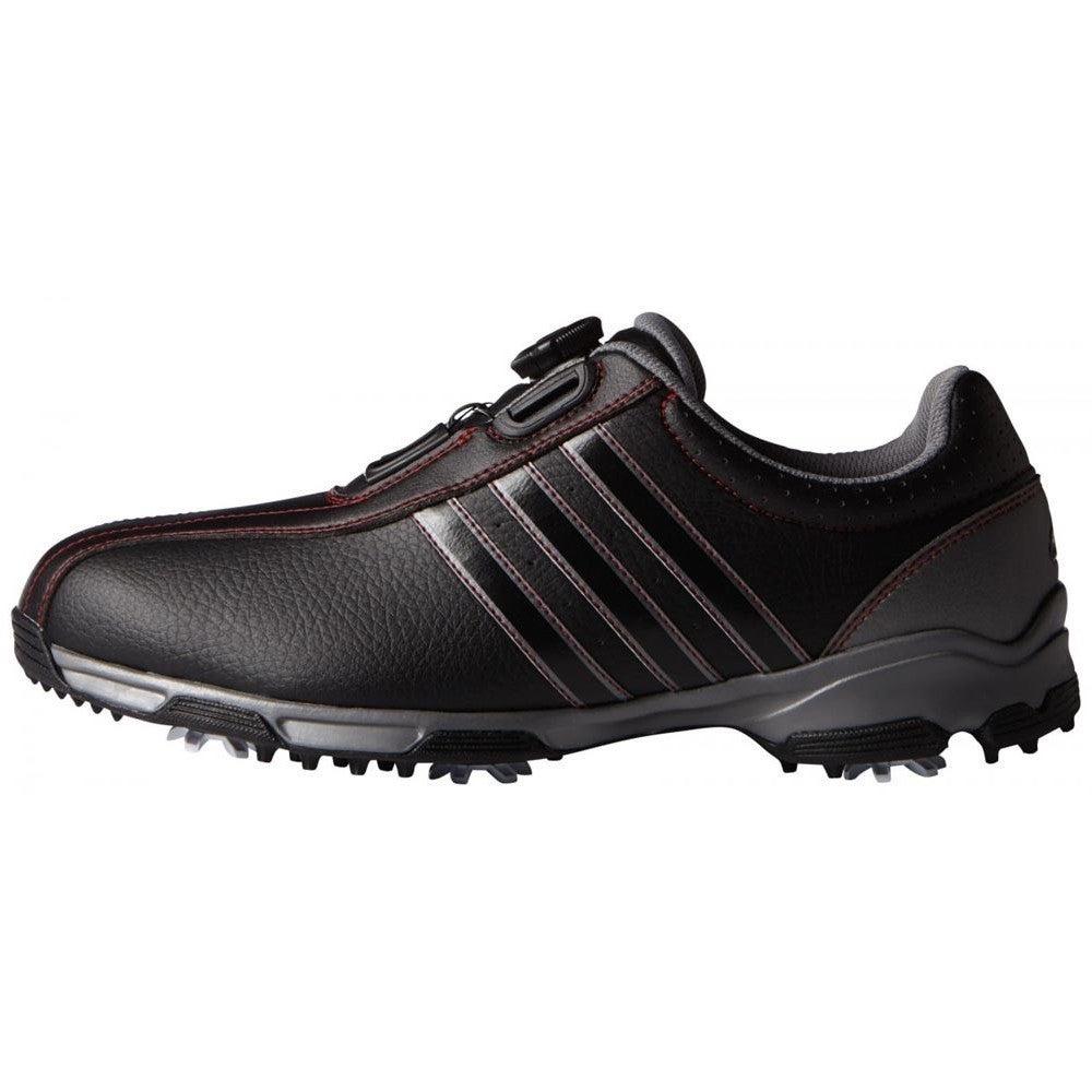 Adidas Men's 360 Traxion BOA Core Black/ Iron Metallic Go...