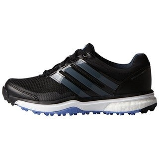 Adidas Women's Adipower Sport Boost 2 Core Black /Bold Onix/ Baja Blue Golf Shoes