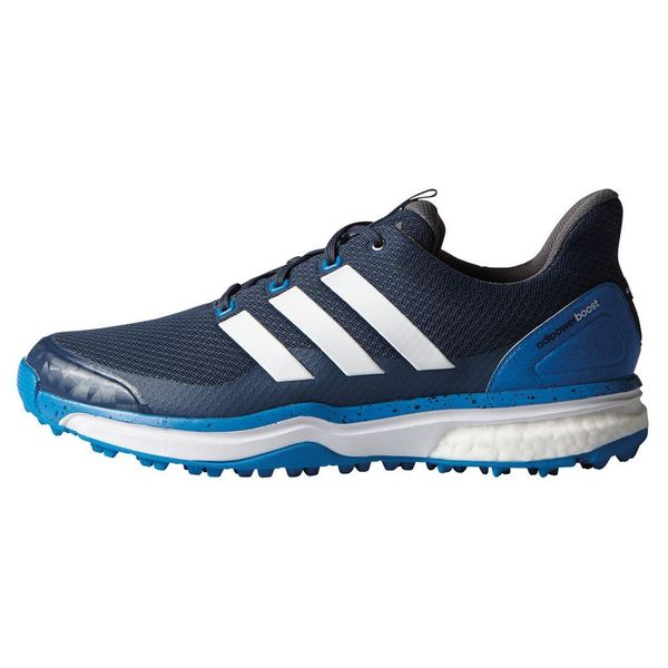 Adidas Men's Adipower Sport Boost 2 Blue/ White/ Shock Blue Golf Shoes