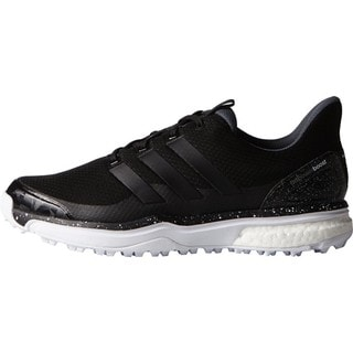 Adidas Men's Adipower Sport Boost 2 Core Black / White Golf Shoes
