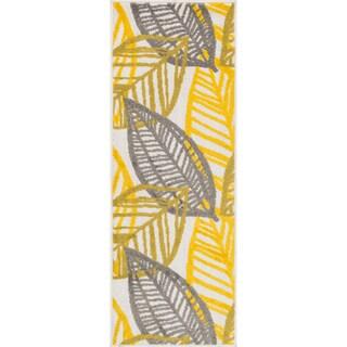 "Palm Ivory/ Citron Rug - 1'8"" x 4'11"""
