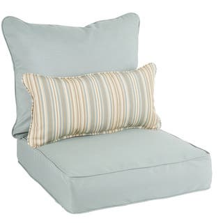 Oakley Sunbrella Solid Indoor/ Outdoor Corded Pillow and Chair Cushion Set https://ak1.ostkcdn.com/images/products/14124680/P20729690.jpg?impolicy=medium
