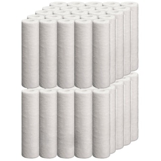 iSpring 10''x2.5'' Sediment Filter Replacement Cartridges(Case of 50)