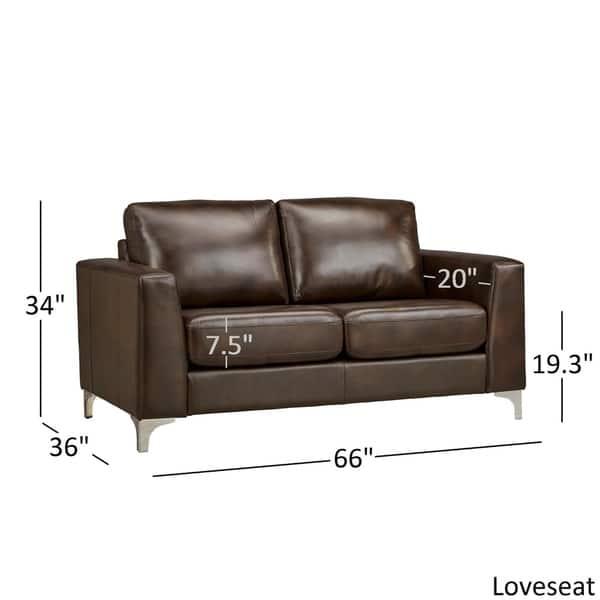 Cool Shop Bastian Aniline Leather Sofa By Inspire Q Modern On Uwap Interior Chair Design Uwaporg