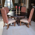 LaRue Reclaimed Wood Round Dining Table