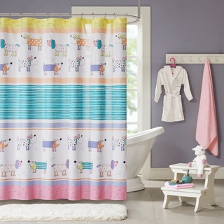 Mi Zone Kids Wriggle Multi Printed Shower Curtain