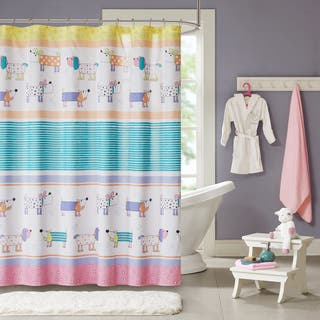 Mi Zone Kids Wriggle Multi Printed Shower Curtain|https://ak1.ostkcdn.com/images/products/14124934/P20729946.jpg?impolicy=medium
