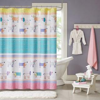 Mi Zone Kids Wriggle Multi Printed Shower Curtain