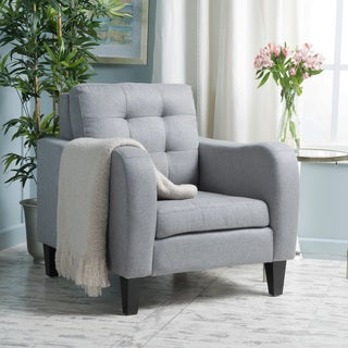 Sorrento Fabric Club Chair by Christopher Knight Home