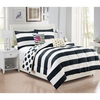 City Girl Reversible 5-piece Comforter Set