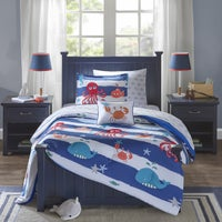 Solid Color Kids' Comforter Sets