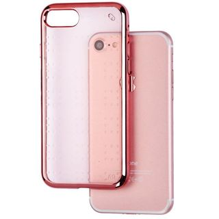 Insten Rose Gold TPU Rubber Candy Skin Case Cover For Apple iPhone 7