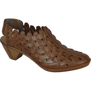 Women's Rieker-Antistress Sina 78 Shoe Walnut