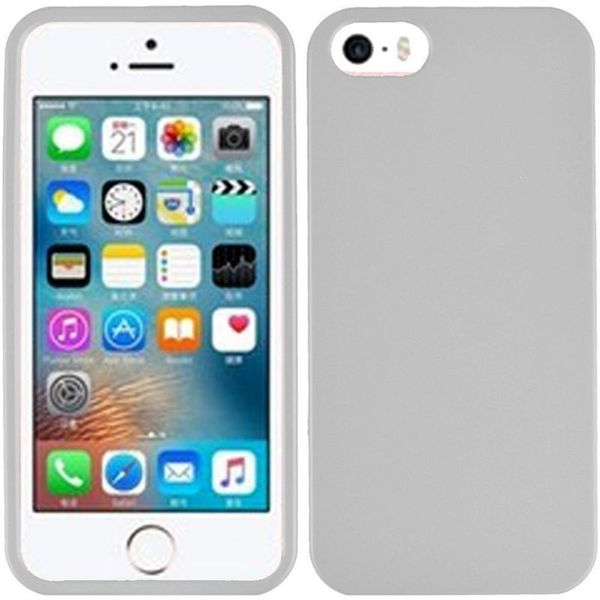 Insten White Hard Snap-on Rubberized Matte Case Cover For Apple iPhone 5/ 5S/ SE