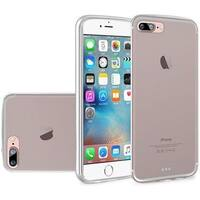 Insten Clear Frosted TPU Rubber Candy Skin Case Cover For Apple iPhone 7 Plus