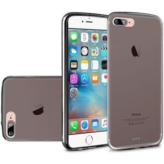 Insten Black Frosted TPU Rubber Candy Skin Case Cover For Apple iPhone 7