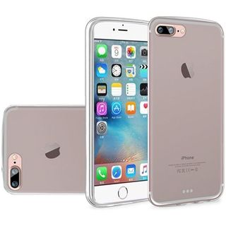 Insten Clear Frosted TPU Rubber Candy Skin Case Cover For Apple iPhone 7