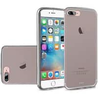 Insten Smoke Frosted TPU Rubber Candy Skin Case Cover For Apple iPhone 7