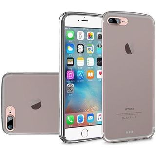 Insten Smoke Frosted TPU Rubber Candy Skin Case Cover For Apple iPhone 7 Plus