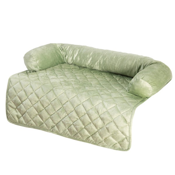 Pet Bed Furniture Cover. Furniture Friend Microfiber Nonskid Sofa Pet Cover. Dog Bed Quick ...