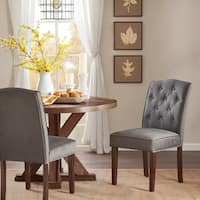Madison Park Misha Tufted Dining Chair (Set of 2) 4-Color Option