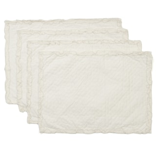 Cottage Home Heather Cotton Placemats (Pack of 4)