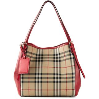 Burberry Canter Horseferry Check Handbag