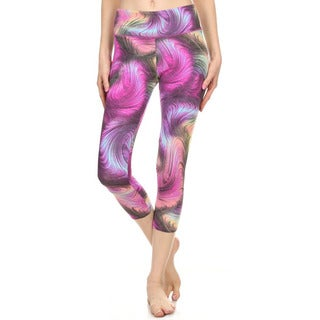 Dippin' Daisy's Gravity Multicolored Indoor and Outdoor Active Sports Capri Pants