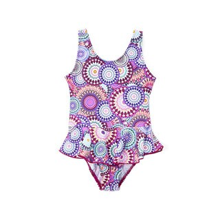 Dippin' Daisy's Girls' Pink Carnival One-piece Swimdress
