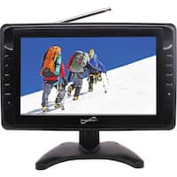 "Supersonic SC-2810 10"" LCD TV - 16:9 - Black"