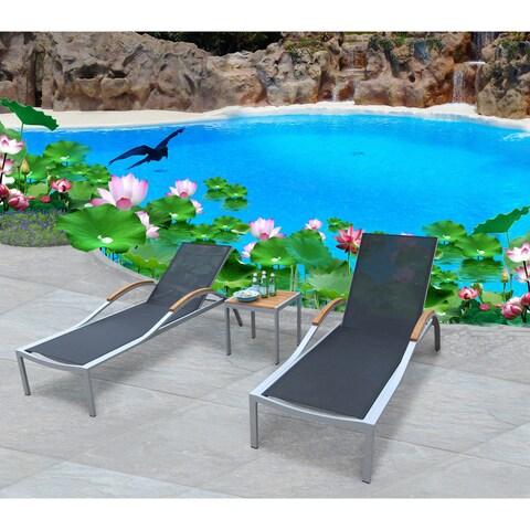 Galliano 3 Pc Chaise Lounge Set
