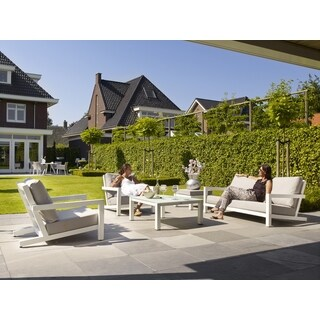 Block White 4 Pc Deep Seating Collection