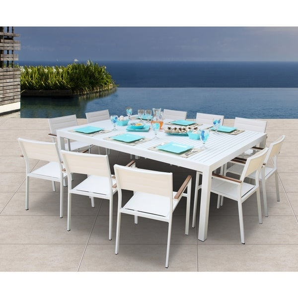 Genial Avallon 11 Pc Dining Set