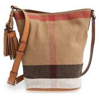 Burberry Mini Ashby Check Crossbody Bag