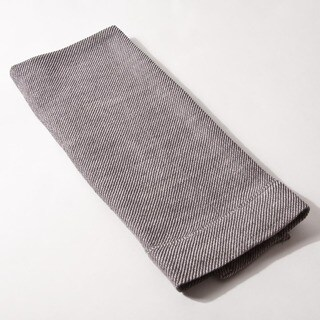 Cottage Home Iven Tan and Grey Linen Guest Towels (Set of 2)