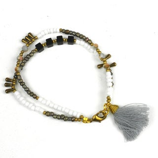 Handmade Storm Kerala Tassel Bracelet - Global Groove (Thailand)