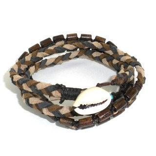 Handmade Renaissance Vegan Wrap Bracelet - Global Groove (Thailand)