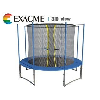 12FT Inner Trampoline W/safety pad & Enclosure Net ALL-IN-ONE Combo