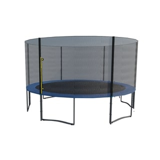 ExacMe 13FT 6W Legs Trampoline w/ Pads, Enclosure, Net, Ladder COMBO T13