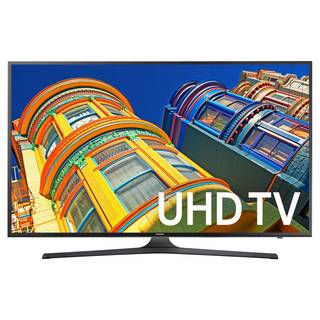 Refurbished Black Samsung 43-inch 4k Ultra HD Flat Panel TV
