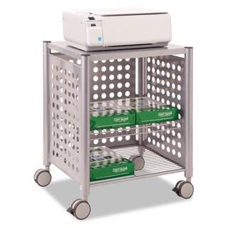 Vertiflex Deskside Machine Stand Two-Shelf 21 1/2-inch wide x 17 7/8-inch deep x 27h Matte Grey