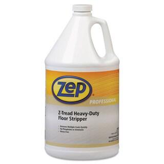 Zep Professional Z-Tread Heavy-Duty Floor Stripper 1gal Bottle, 4/Carton