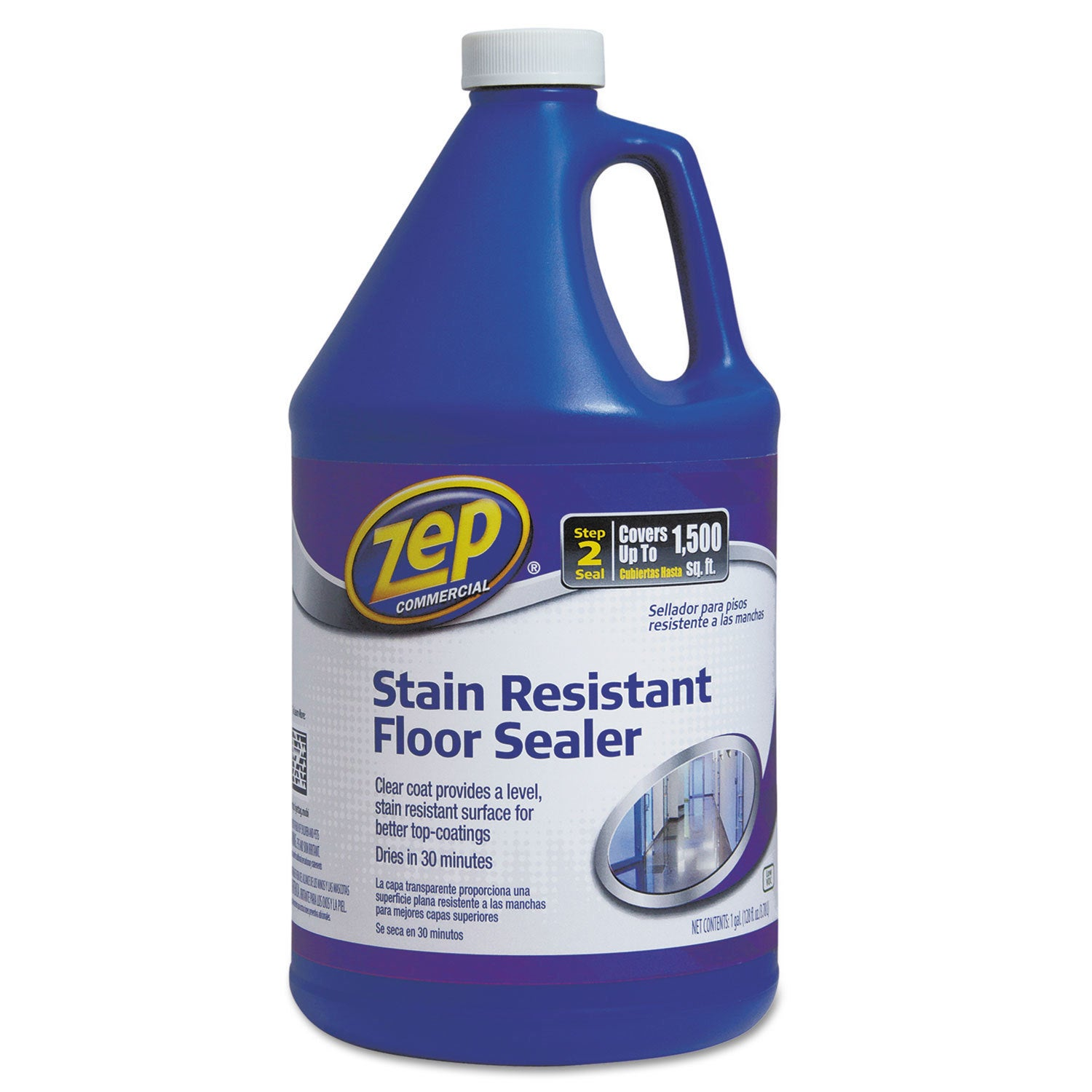 ZEP Commercial Stain Resistant Floor Sealer 1 gal Bottle ...