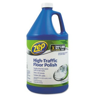 Zep Commercial High Traffic Floor Polish 1 gal Bottle