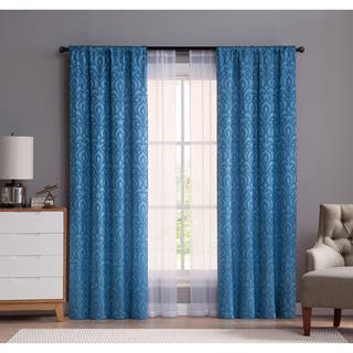 VCNY Home Vita Panel Pair with Bonus Sheer Panel Pair|https://ak1.ostkcdn.com/images/products/14138462/P20741950.jpg?impolicy=medium
