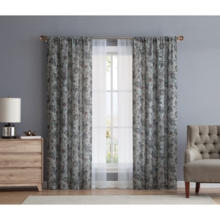 VCNY Home Voss Printed Panel Pair with Bonus Sheer Panel Pair