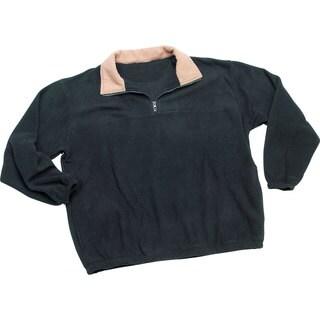Roberto Amee Men's Fleece Pullover Jacket