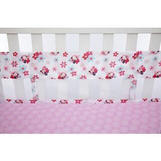 Disney Minnie's Garden Secure-Me Crib Liner