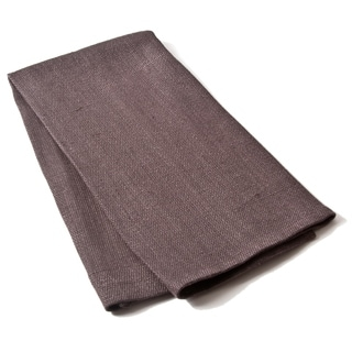 Cottage Home Liam Charcoal Linen Guest Towels (Set of 2)